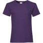 Camiseta Básica De Manga Corta 100% Algodón Primera Calidad Fruit Of The Loom