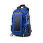 Mochila Con Cargador Solar Azul