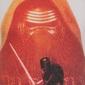 La Guerra De Las Galaxias - Camiseta Oficial Para Hombre - Rojo Kylo Ren - Large