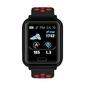 Smartwatch Deportivo Multifunción Sw-650 En Color Rojo