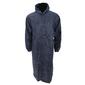 Chubasquero/impermeable 3/4 Con Capucha Para Caballero/hombre Universal Textiles (Azul)