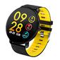 Reloj Inteligente Smartwatch Redondo Ip68 Amarillo