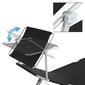 Tumbona Plegable De Aluminio Con Techo