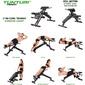 Banco De Musculación Ct80 Core Trainer Tunturi