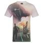 La Guerra De Las Galaxias - Camiseta Oficial Para Hombre - Rojo Kylo Ren - Xl
