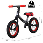 Homcom Bicicleta Sin Pedales Con Asiento Regulable