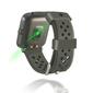Reloj Inteligente Smartwatch Deportivo Cuadrado  Negro