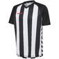 Camiseta Blanquinegra Hummel Authentic V Striped
