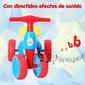 Homcom Bicicleta Sin Pedales Con Sonido Y Mini Almacenamiento