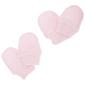 Manoplas Elásticas 100% Algodón Para Recién Nacido (Pack De 2 Pares) Universal Textiles (Rosa)