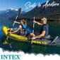 Kayak Hinchable Intex Explorer K2 & 2 Remos