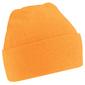 Gorro De Invierno Con Tacto Super Suave  Invierno/nieve Beechfield (Naranja)