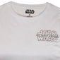 La Guerra De Las Galaxias - Camiseta Oficial Para Hombre - Blanco Kylo Ren - Medium
