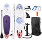Tabla Paddle Surf Hinchable Fitfiu Con Accesorios Y Diseño Mandala
