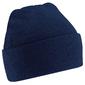 Gorro De Invierno Con Tacto Super Suave  Invierno/nieve Beechfield (Azul)