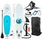 Tabla Paddle Surf All Round Hinchable Fitfiu Con Accesorios Y Diseño Marino