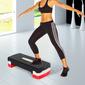 Homcom Tabla De Step Ajustable Para Fitness Aeróbic Deporte Gimnasia