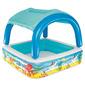 Bestway Piscina De Juegos Con Toldo Azul 52192