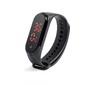 Smartband Con Función Termometro Color Negro