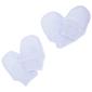 Manoplas Elásticas 100% Algodón Para Recién Nacido (Pack De 2 Pares) Universal Textiles (Azul)