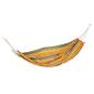 Hamaca Para Colgar En Camping - Naranja - 70% Algodón - 200x100cm