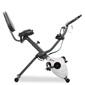 Bicicleta Estática Plegable Fitfiu 10 Niveles De Resistencia Y Disco Inercia 8kg