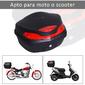 Homcom Baúl De Moto Universal 48l Con Llaves