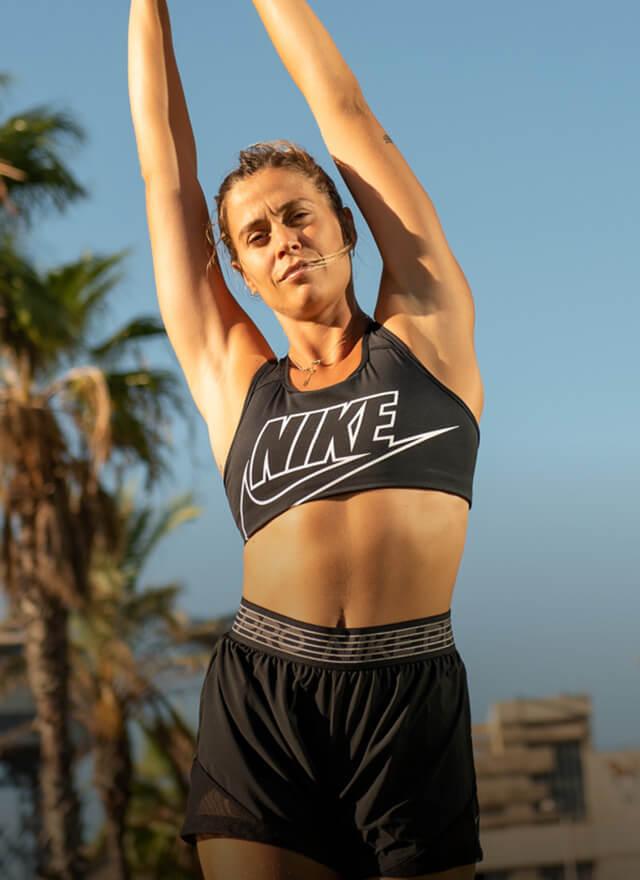Entrena con Nike y Mireia Borrás
