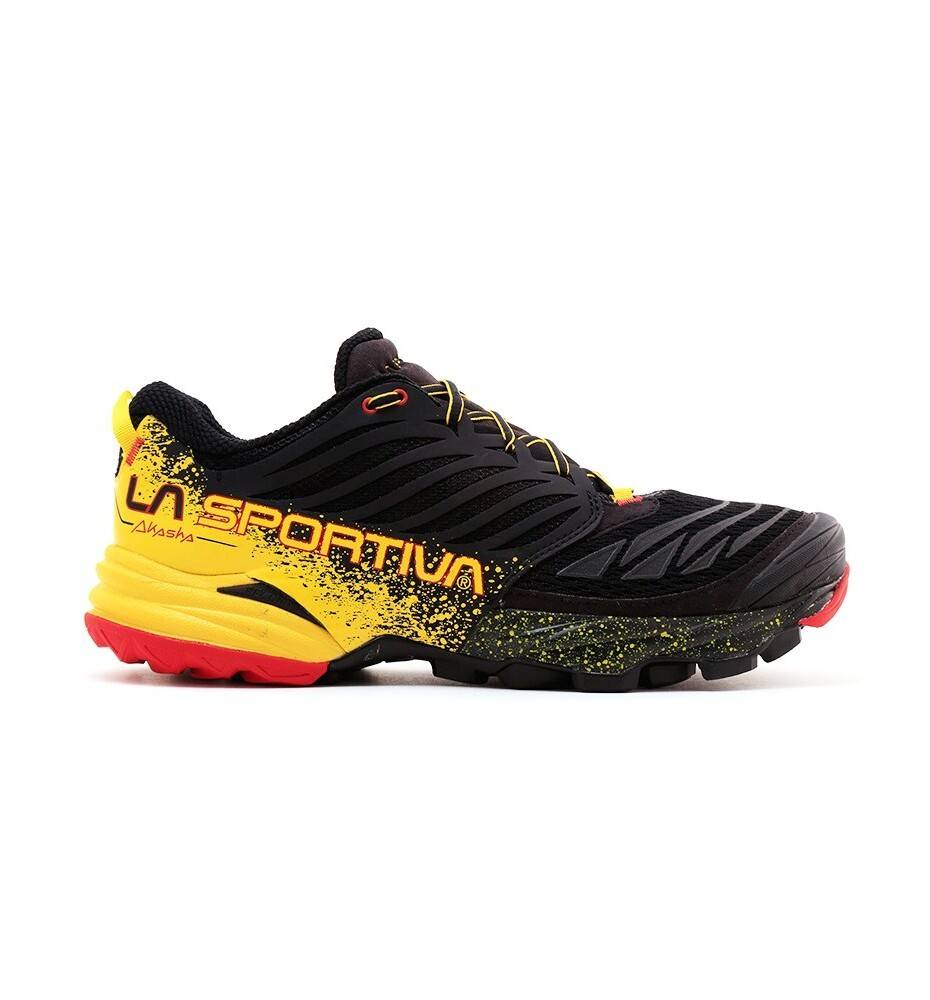 Zapatillas De Trail Running De Hombre Akasha La Sportiva - Negro/Amarillo MKP