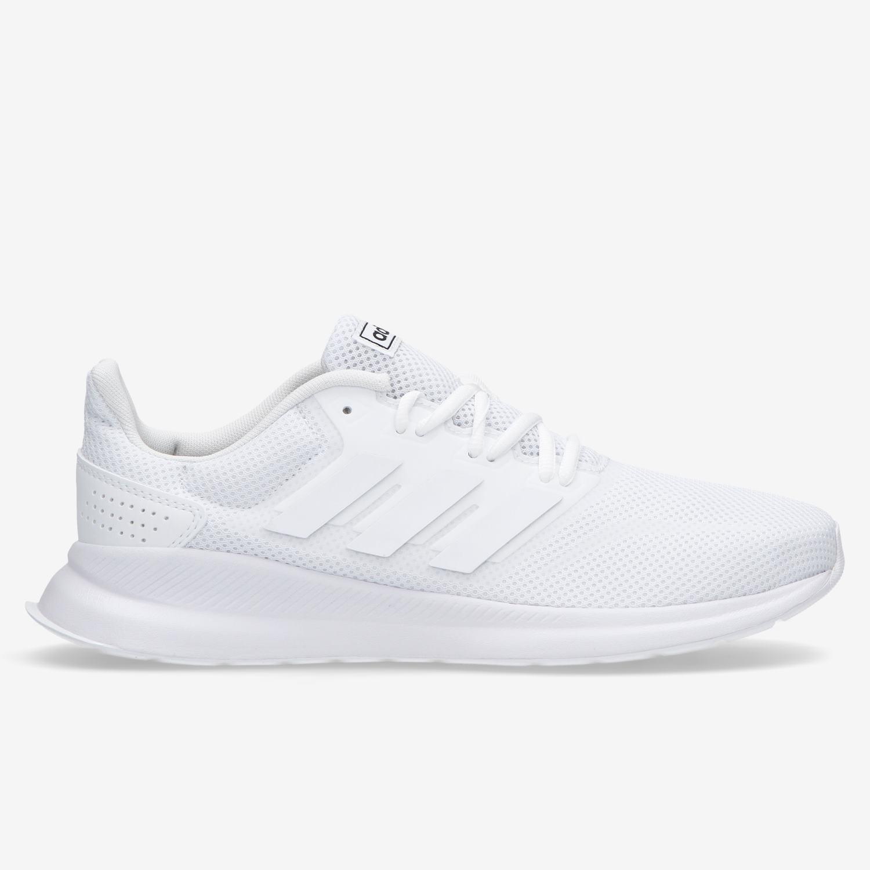 adidas Runfalcon - Blancas - Zapatillas Running Hombre