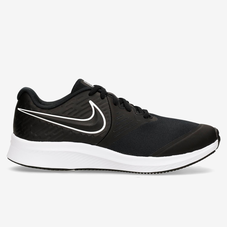 Nike Star Runner 2 - Negro - Zapatillas Running Chico