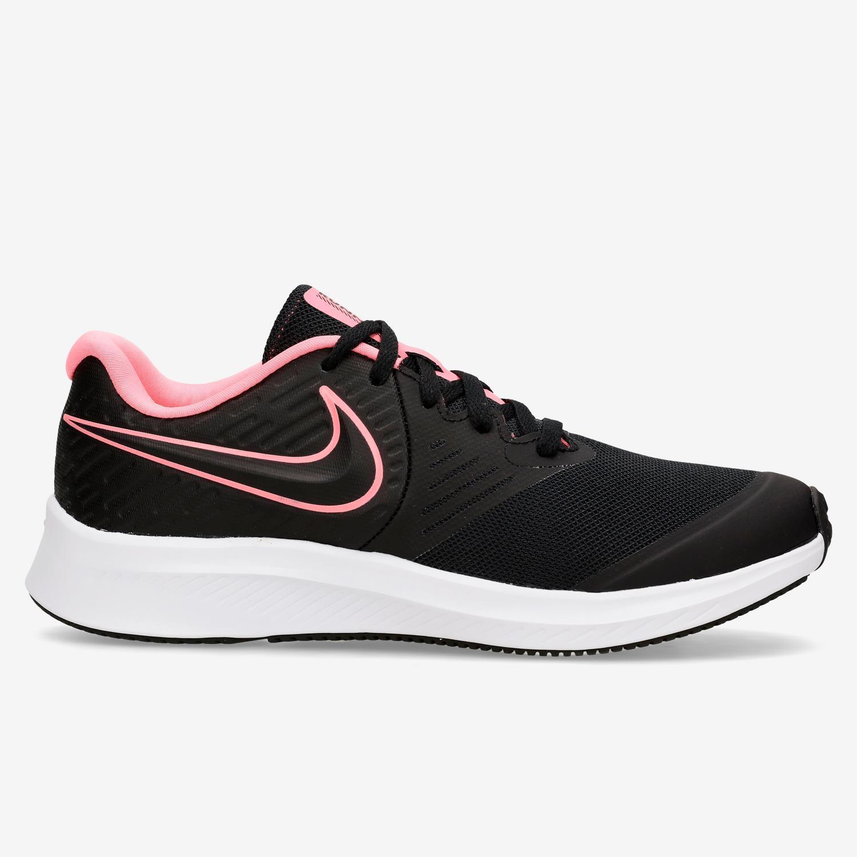 Nike Star Runner 2 - Negro - Zapatillas Running Chica