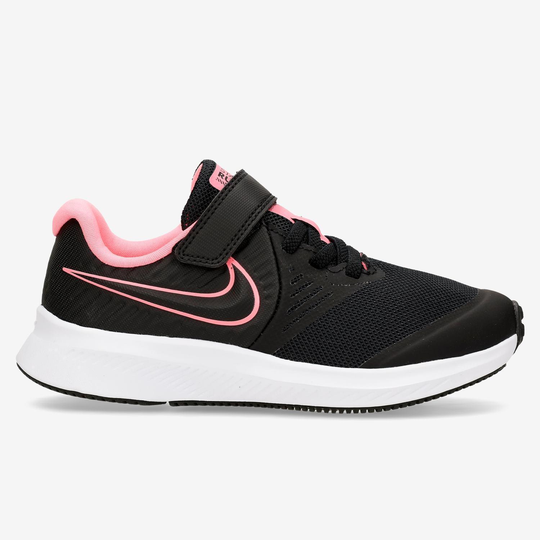 Nike Star Runner 2 - Negro - Zapatillas Running Niña