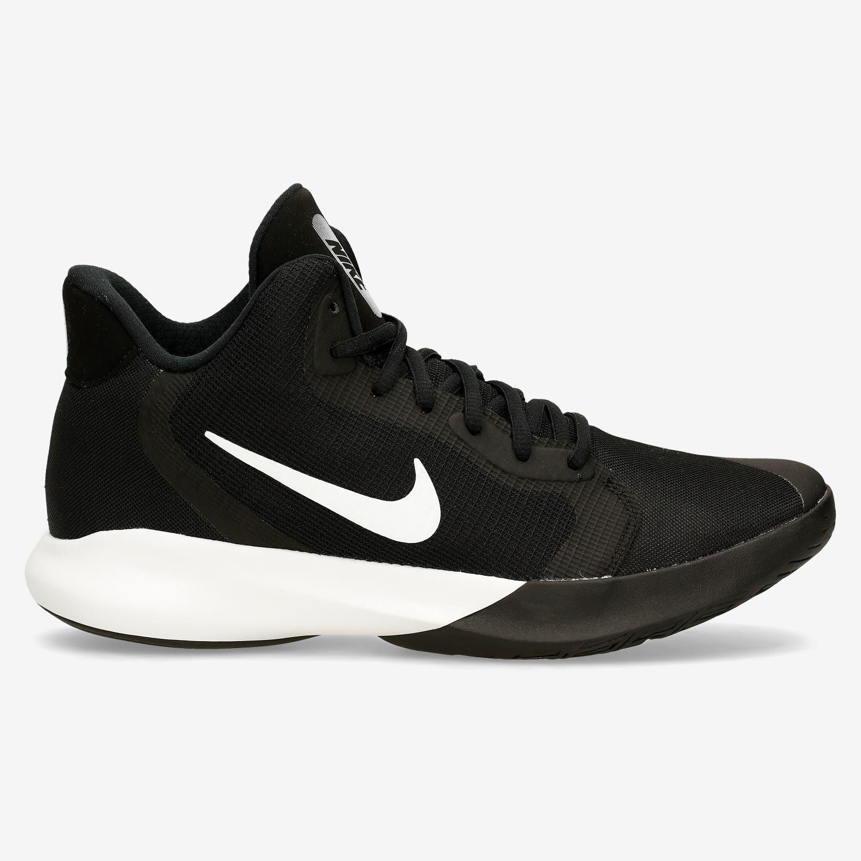 enaguas Cambio protestante  Nike Precision III Negro Botas Baloncesto Hombre   Sprinter