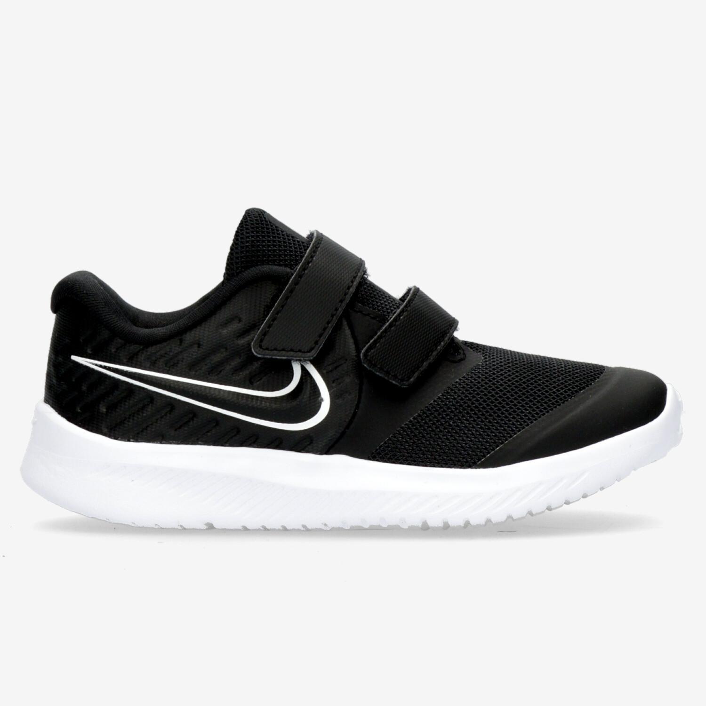 Nike Star Runner 2 - Negro - Zapatillas Running Niño
