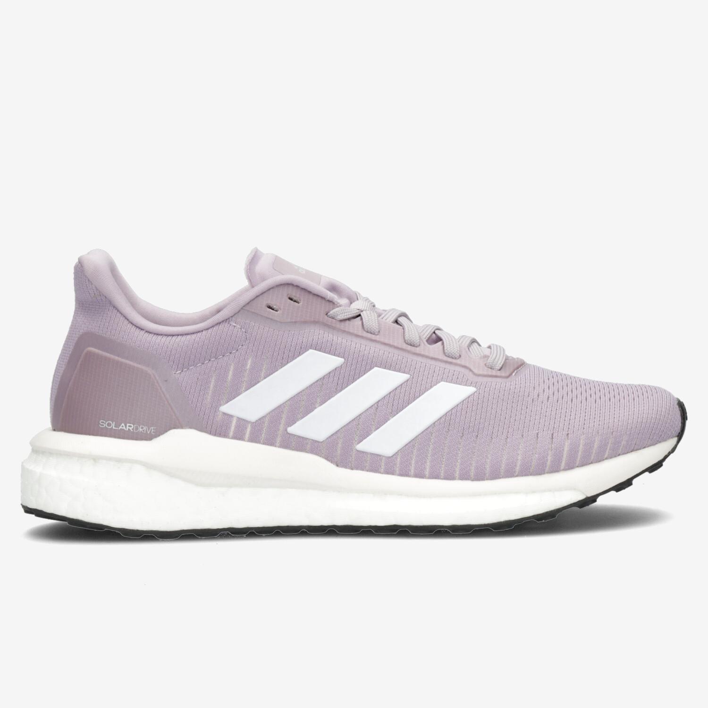 adidas Solar Drive 19 - Malva - Zapatillas Running Mujer | Sprinter