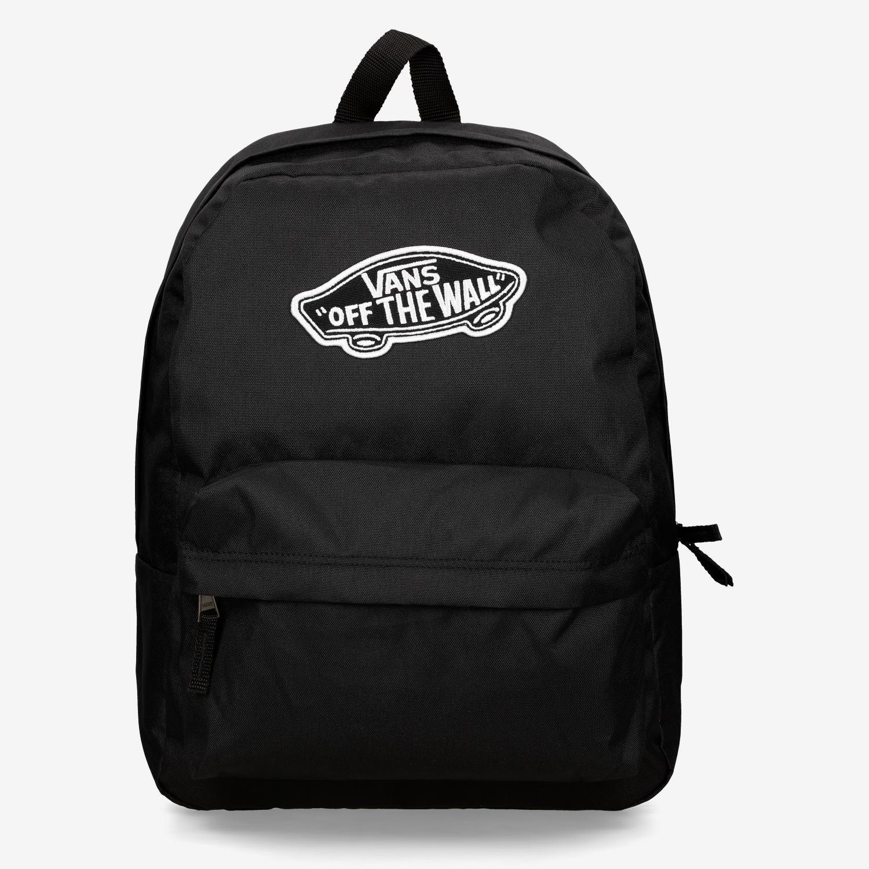 mochila negra vans mujer
