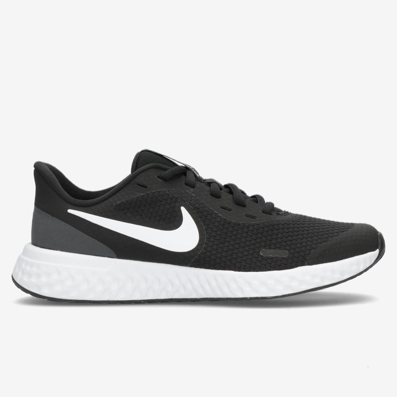Nike Revolution 5 - Negro - Zapatillas Running Chica
