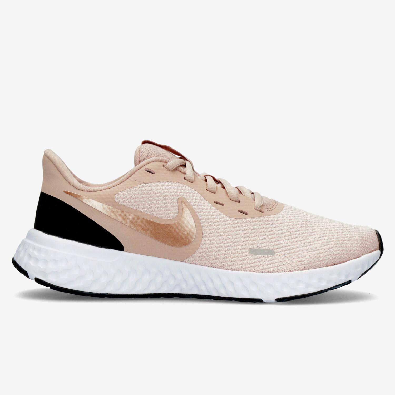 Nike Revolution 5 - Rosa - Zapatillas Running Mujer