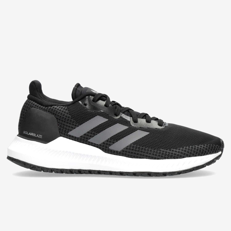 adidas Solar Blaze - Negro - Zapatillas Running Mujer   Sprinter