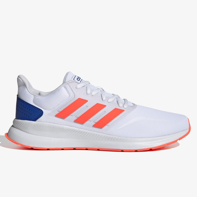adidas Runfalcon - Blanco - Zapatillas Running Hombre