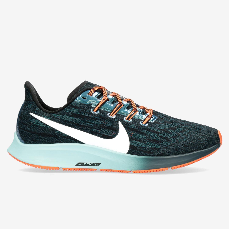 Por el contrario relé mineral  Nike Air Zoom Pegasus 36 - Azul - Zapatillas Running Mujer | Sprinter