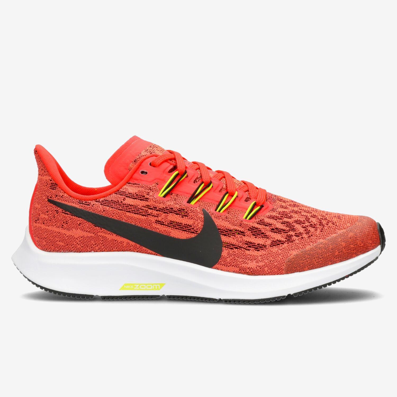 Nike Air Zoom Pegasus 36 - Coral - Zapatillas Running Chica ...