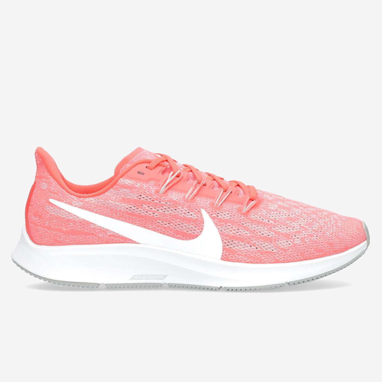 ayuda Guión Matrona  Nike Air Zoom Pegasus 36 Coral Zapatillas Running Hombre | Sprinter