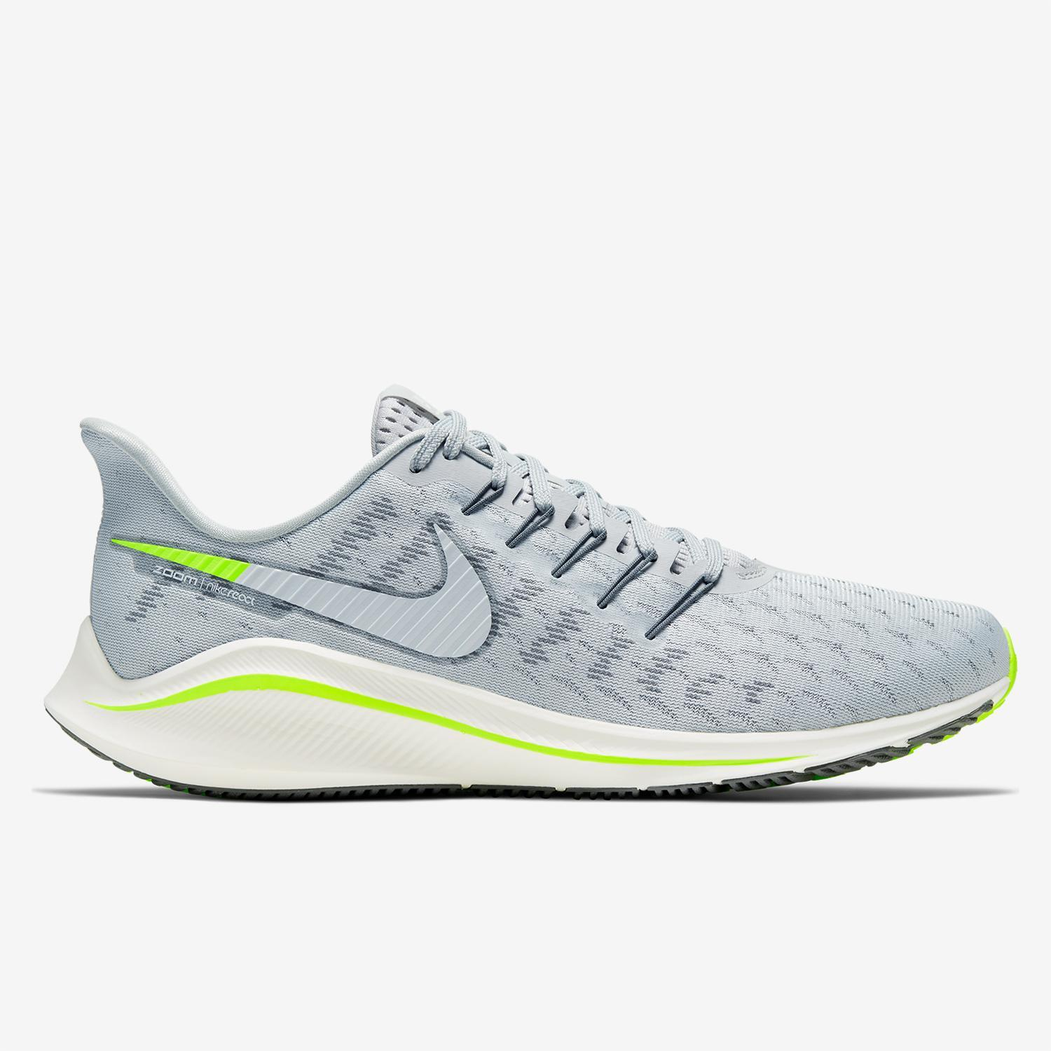 Nike Air Zoom Vomero 14 Grises Zapatillas Running Hombre