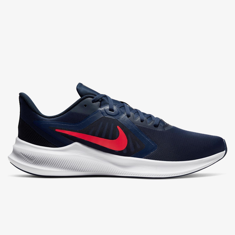 Nike Downshifter 10 - Marino - Zapatillas Running Hombre