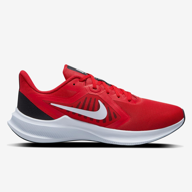 Nike Downshifter 10 - Rojas - Zapatillas Running Hombre
