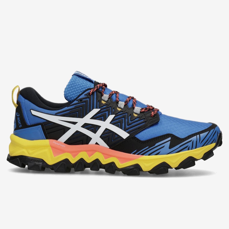 Asics Gel Fuji Trabuco 8 - Azul - Zapatillas Trail Hombre