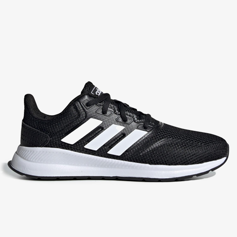 adidas Runfalcon - Negro - Zapatillas Running Chica