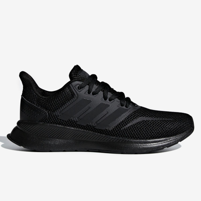 adidas Runfalcon - Negras - Zapatillas Running Chica